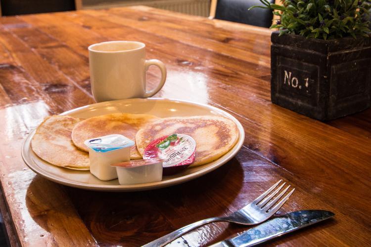 Możesz wybrać z 3 zestawów śniadaniowych