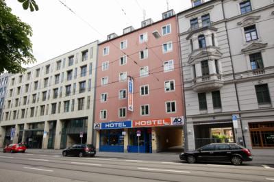 Hostele i Schroniska - A&O München Hauptbahnhof Hostel