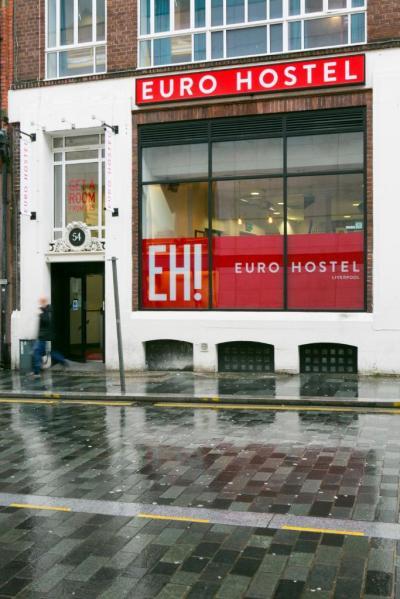 Hostele i Schroniska - Euro Hostel Liverpool