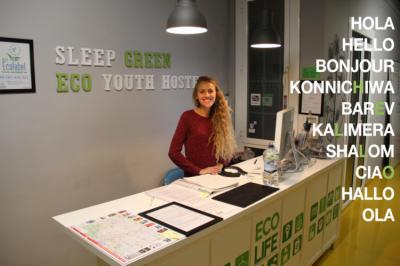 Hostele i Schroniska - Sleep Green - Certified Eco Youth Hostel
